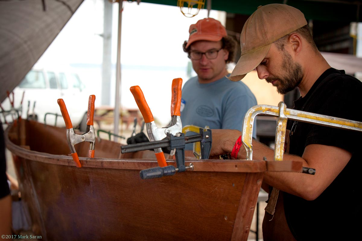 Edensaw Boatbuilding Challenge | Port Townsend Wooden Boat