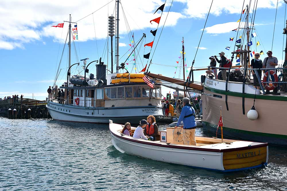 Waterfront Tours during the Wooden Boat Festival